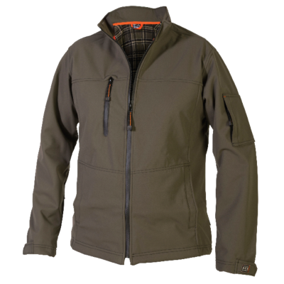 ACE JACKA SOFTSHELL CLAY