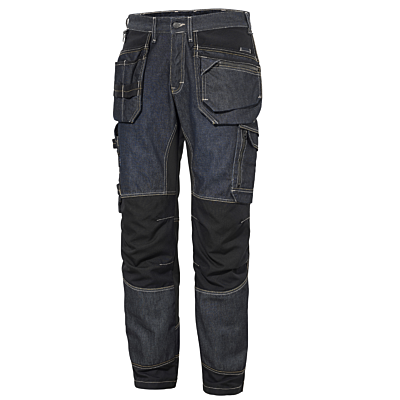 BUKSE I STRETCH MED HENGELOMMER CARPENTER NORDIC DENIM