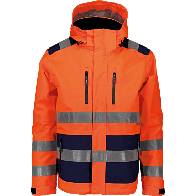 SKALJACKA HIVIS ORANGE/MARIN