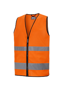 REFLEKSVEST KL. 2 ORANGE