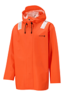 REGNJAKKE PVC VEGA LIGHTWEIGHT ORANGE