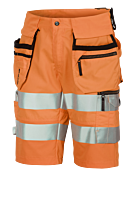 SHORTS THS MED HENGELOMMER KL. 2 ORANGE/SVART