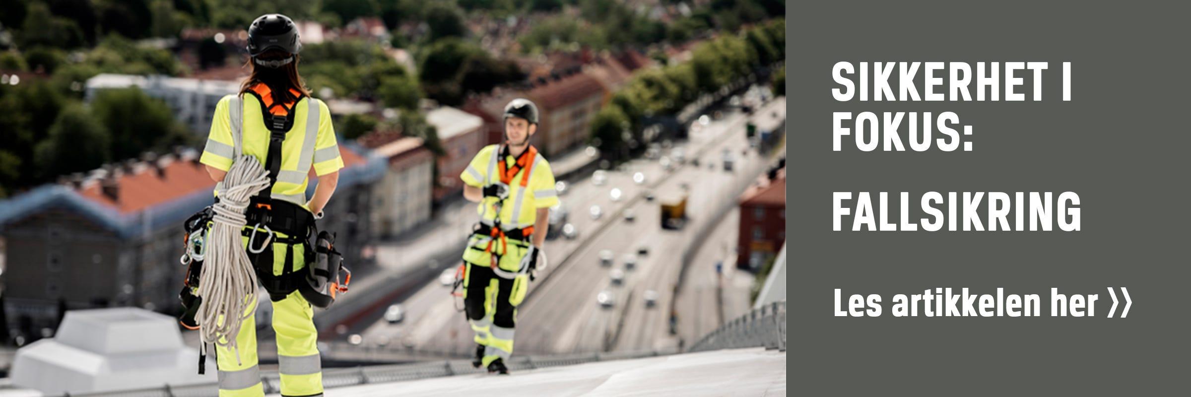 Sikkerhet i fokus- arbeid i høyden