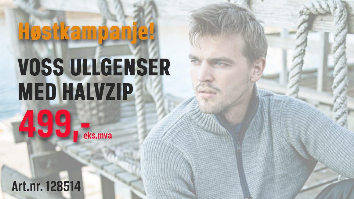 Voss ullgenser til kampanjepris i oktober